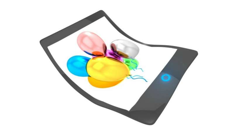 The potential of flexible OLEDs as an innovative surface material