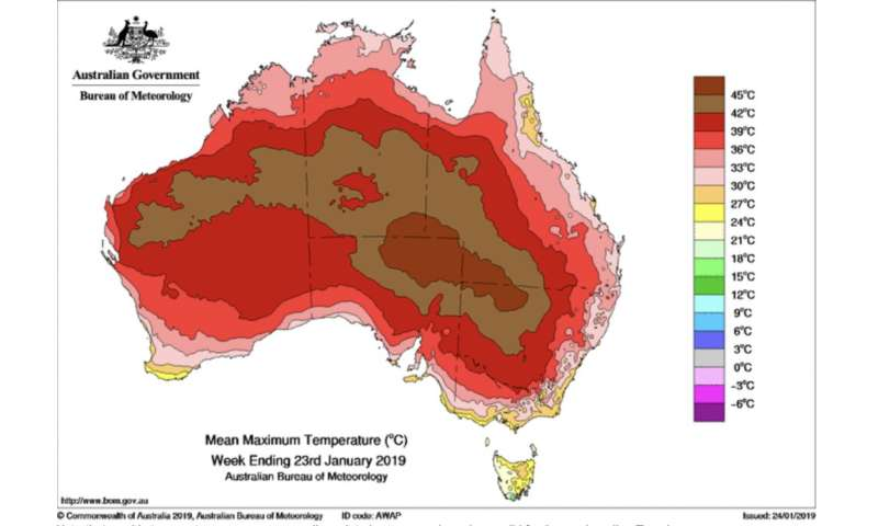 The stubborn high-pressure system behind Australia's record heatwaves