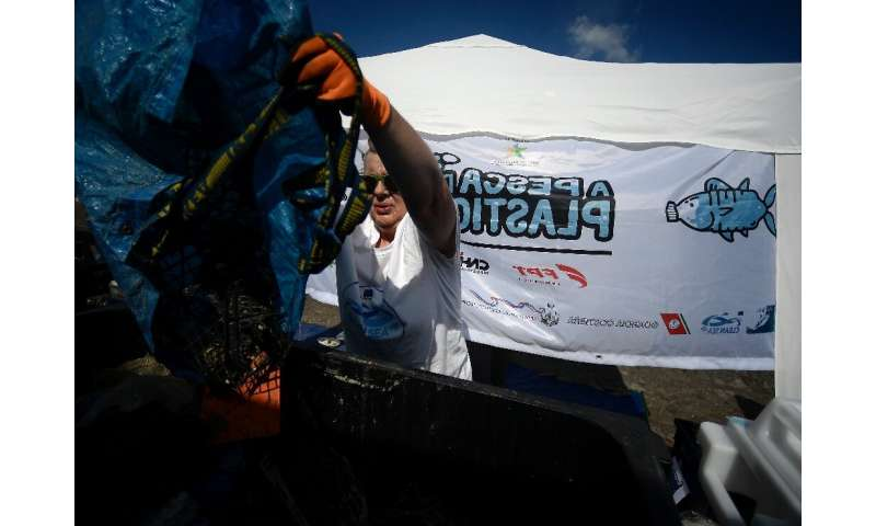 The trash retrieved by the fishermen is being collected, analysed and, where possible, recycled in the Clean Sea Life project