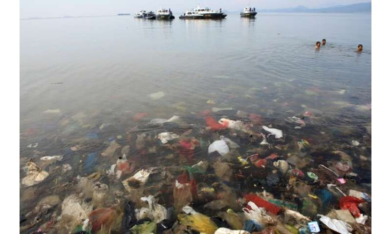 The world currently produces more than 300 million tonnes of plastics annually, and there are at least five trillion plastic pie