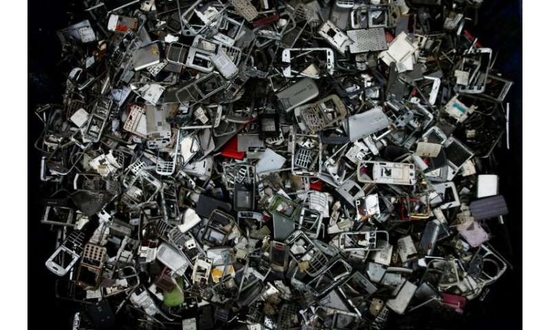 The world produces close to 50 million tonnes of e-waste every year as consumers and businesses throw out their old smartphones,