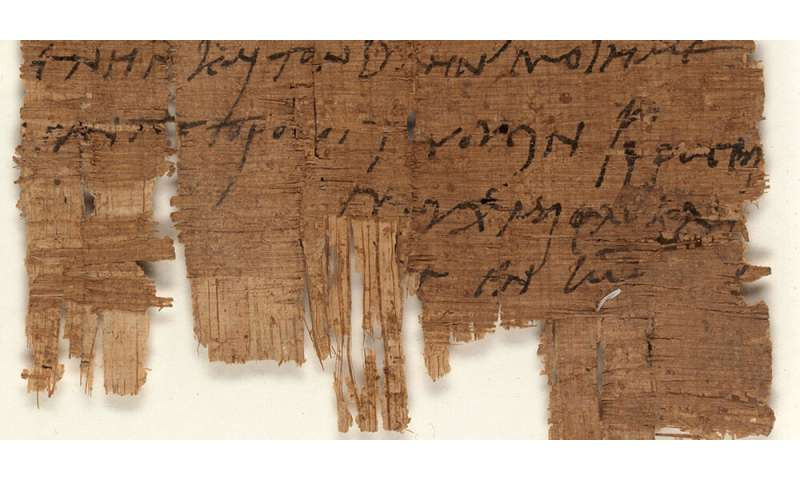 The world`s oldest autograph by a Christian is in Basel