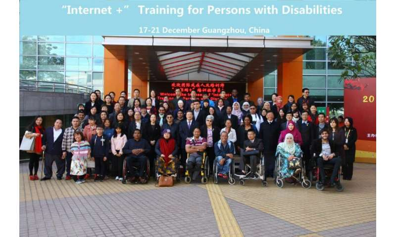 TSU's experience in teaching people with disabilities can help China