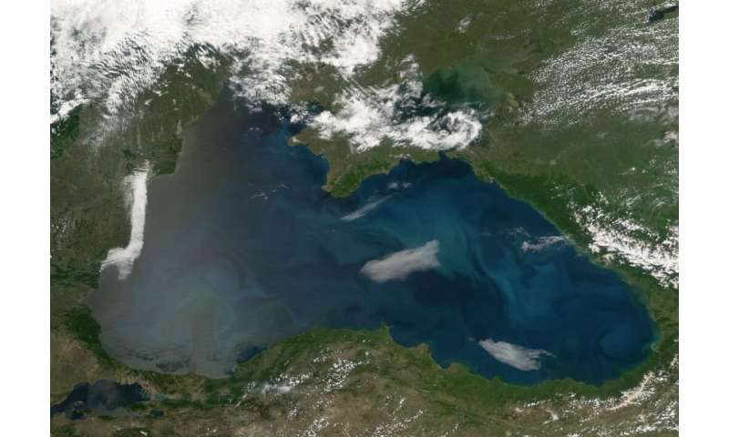Warmer winters are changing the makeup of water in Black Sea
