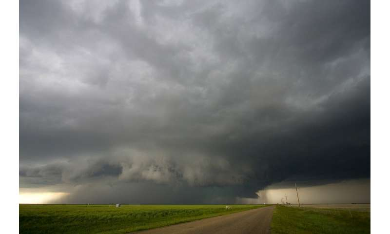 Warming seas may increase frequency of extreme storms