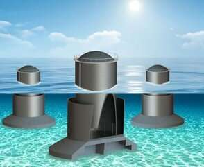 The wave device could deliver clean energy to thousands of homes