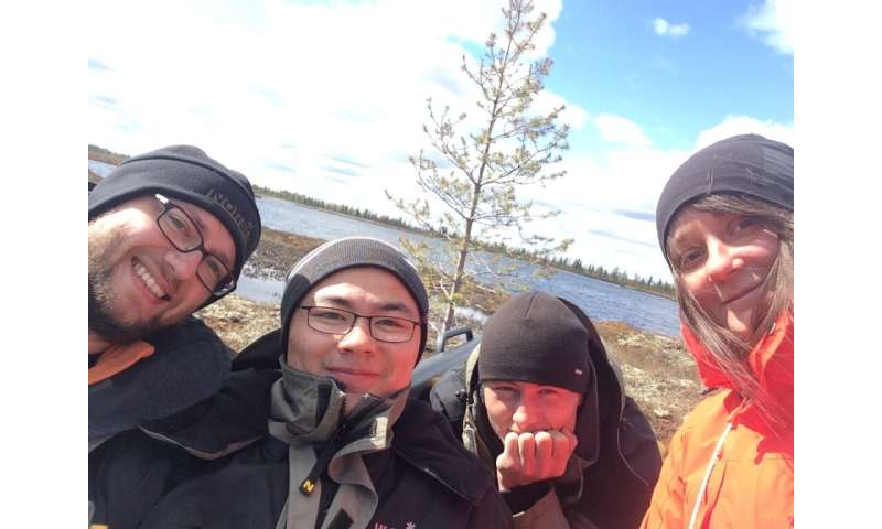 What happens with the Arctic and subarctic lakes in the offseason?