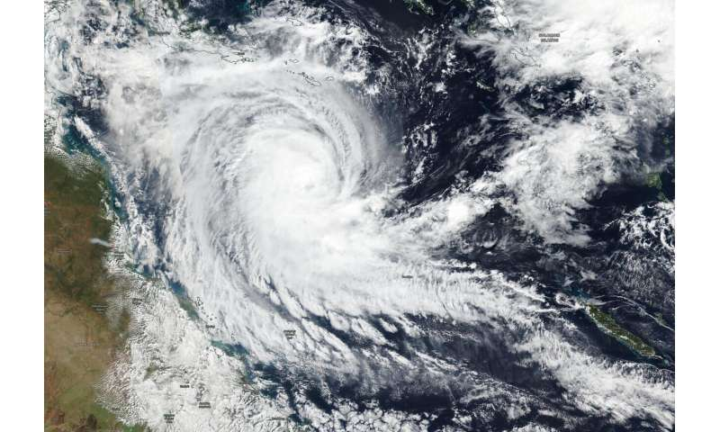 NASA-NOAA satellite catches Tropical Cyclone Ann threatening Queensland