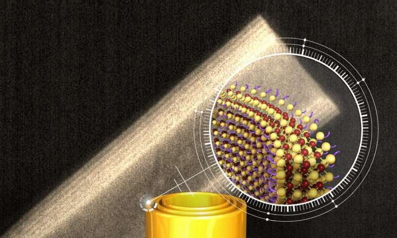 Researchers discover semiconducting nanotubes that form spontaneously