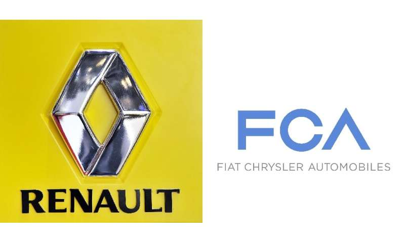 """Fiat Chrysler has offered a """"merger of equals"""" with Renault, a prospect that has sent shares in both automakers up sha"""