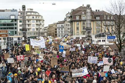 Make love, not CO2: Students worldwide demand climate action