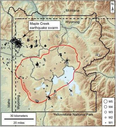 Aftershocks of 1959 earthquake rocked Yellowstone in 2017-18