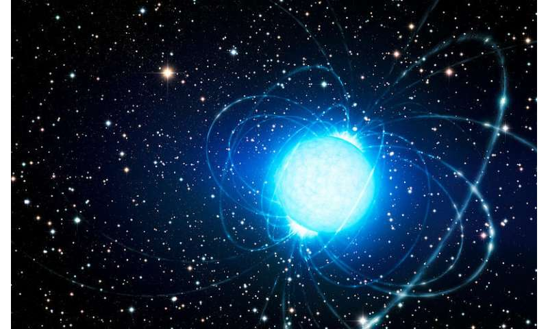 **Astronomers investigate a recently reactivated radio magnetar