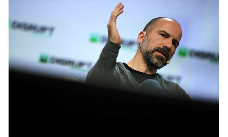 """CEO Dara Khosrowshahi says Uber aims to become a diversified """"personal mobility"""" company offering various modes of tra"""