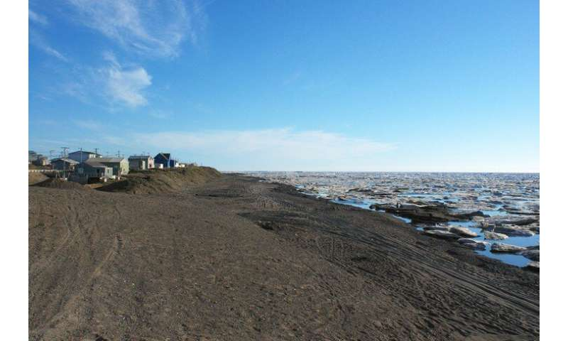Exploring permafrost coastal erosion in the Arctic