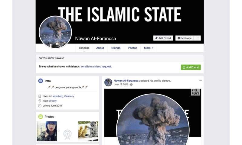Facebook auto-generates videos celebrating extremist images