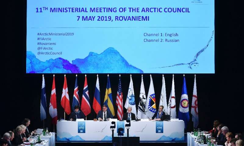 It was the first time the Arctic Council, which held its first meeting in 1996, failed to present a final declaration at the end