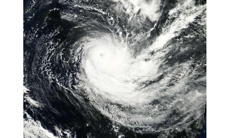 NASA finds Tropical Cyclone Joaninha maintaining an eye