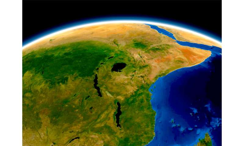 New light into the recent evolution of the African rift valley