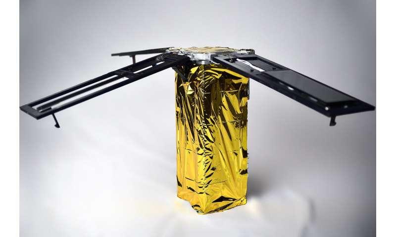 Shape memory alloy technology leads to energy-efficient CubeSat