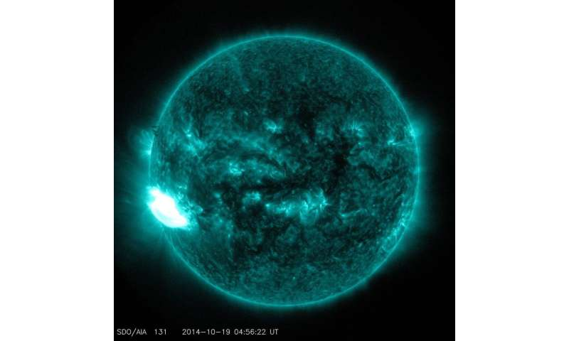 Solar weather has real, material effects on Earth