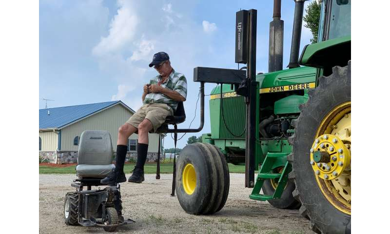 Technology, temporary help keeps farmers on job longer