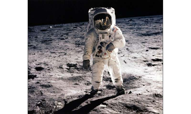 The United States spent about $25 billion on 15 Apollo missions, including that which first put Neil Armstrong and Buzz Aldrin o