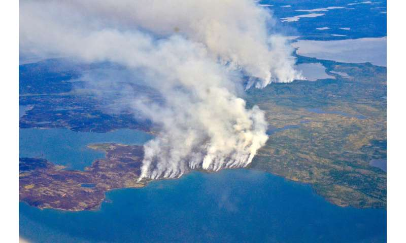 Through smoke and fire, NASA searches for answers