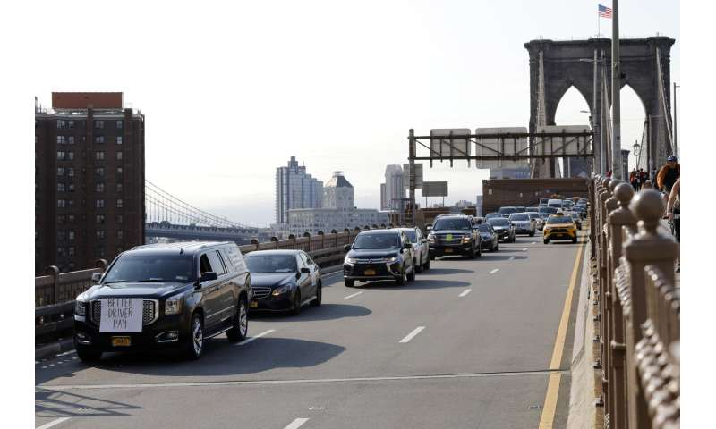 Uber, Lyft drivers across the US, overseas