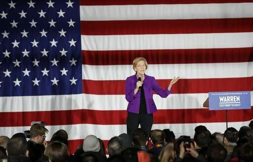Warren says tech giants have 'too much power,' need breakup