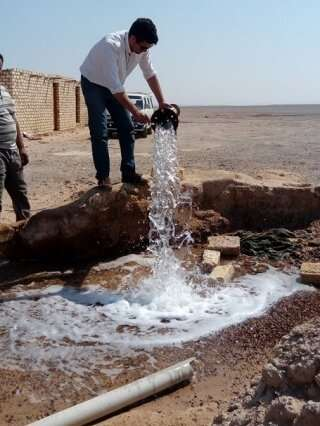 Researchers examine the age of groundwater in Egyptian aquifers