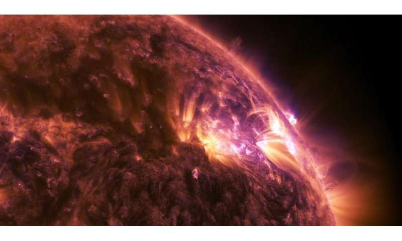 Scientists reproduce the dynamics behind astrophysical shocks
