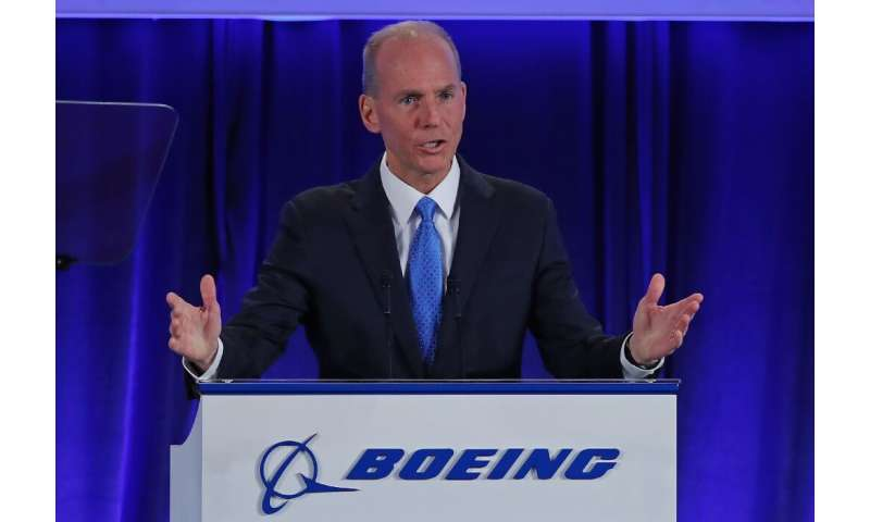 Boeing Chief Executive Officer Dennis Muilenburg reaffirmed that the company expects the 737 MAX to resume service early in the