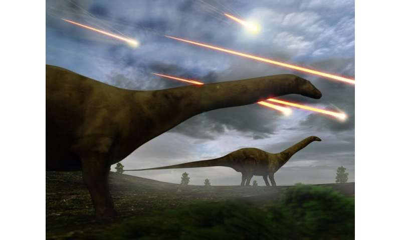 Catastrophic failure of Earth's global systems led to the extinction of the dinosaurs – we may yet go the same way