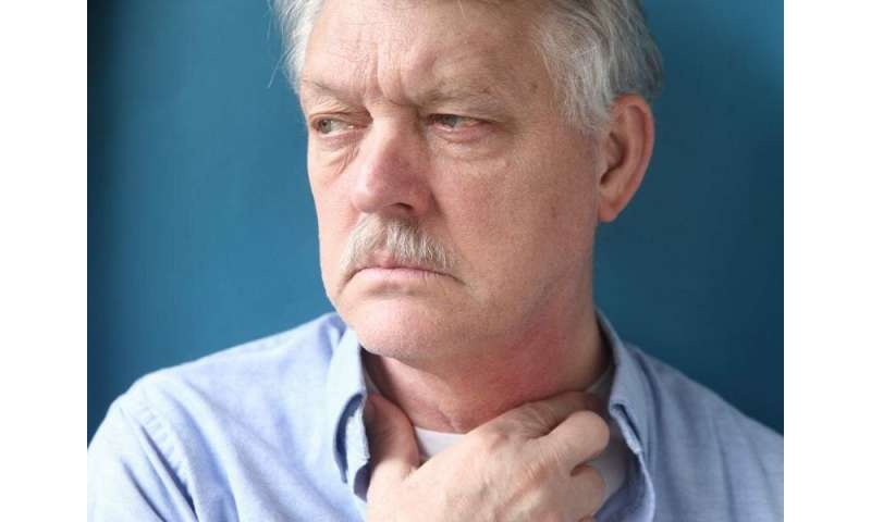Mental health disorders up after head & neck cancer diagnosis