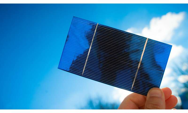 Scientists use machine learning to identify high-performing solar materials