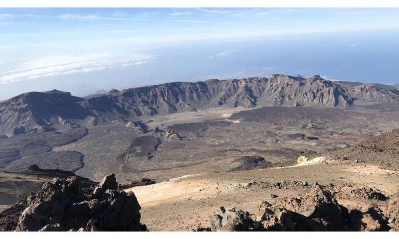 Study provides new insight into the origin of Canary Islands caldera