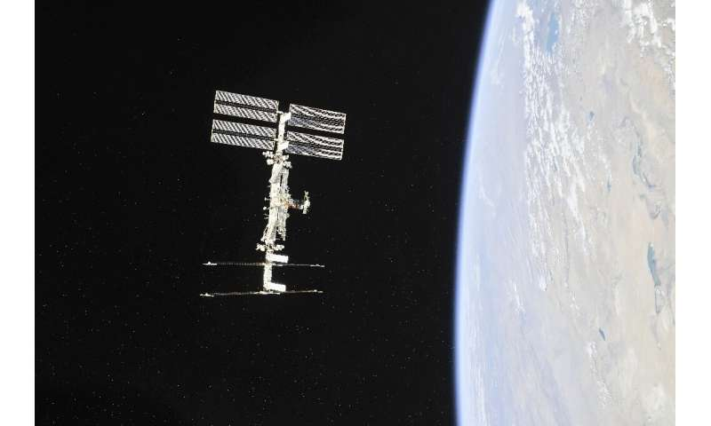 The International Space Station does not belong to NASA—it was built along with Russia starting in 1998, and other countries par
