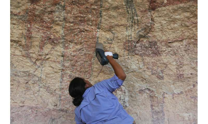 Uncovering the secrets of ancient rock art using 'X-ray vision'