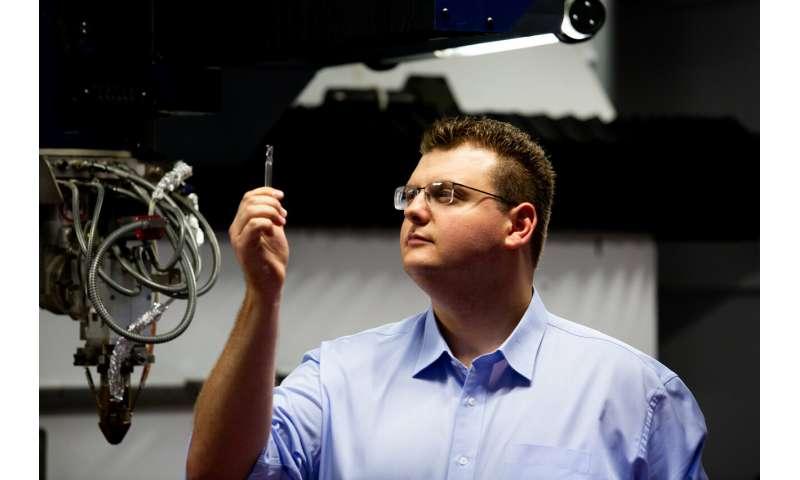 3D printed tool cuts through titanium, wins innovation prize