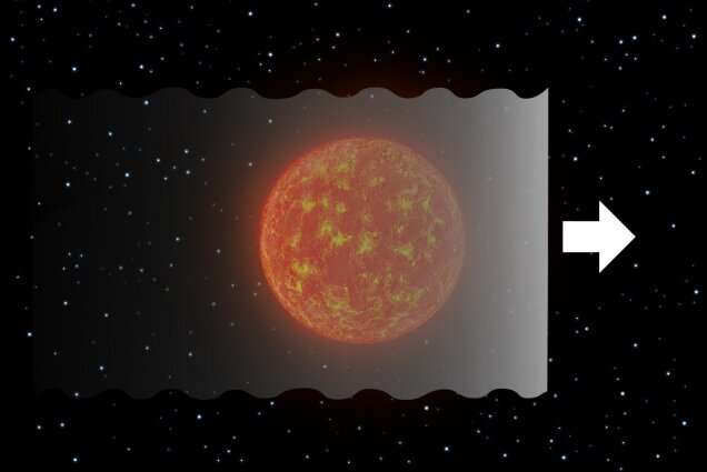 **Astronomers detect deep long asymmetric occultation in a newly found low-mass star