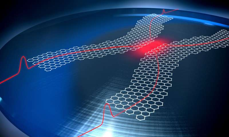 Quantum computing with graphene plasmons