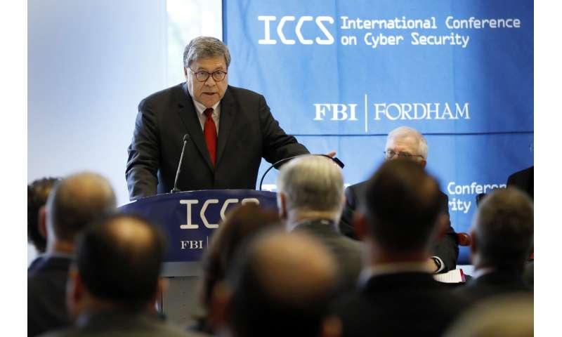 Le procureur général américain déclare que le cryptage crée un risque pour la sécurité