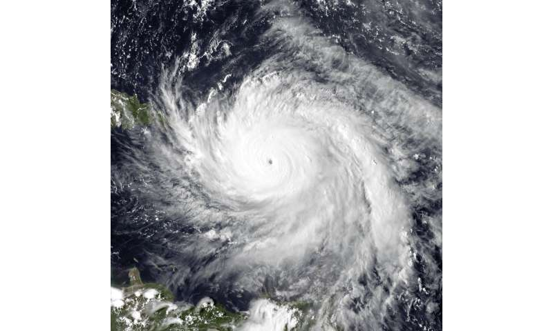 Climate change to blame for Hurricane Maria's extreme rainfall