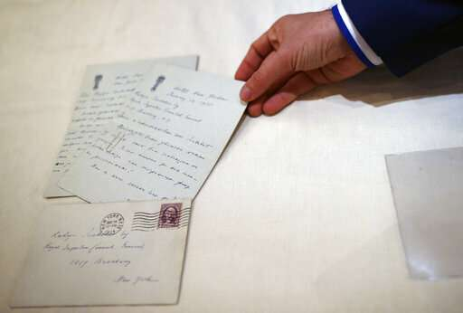 2 letters by inventor Nikola Tesla surface in Serbia