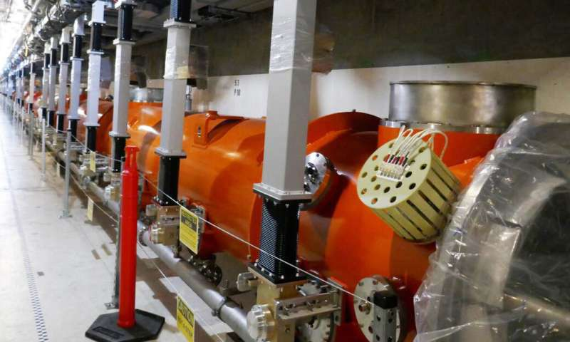 A million pulses per second: How particle accelerators are powering X-ray lasers