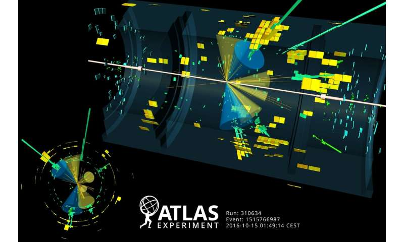 ATLAS experiment measures Higgs boson coupling to top quark in diphoton channel with full Run 2 dataset