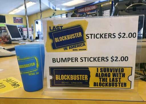 Be Kind, Please Rewind: Oregon Blockbuster is last on Earth