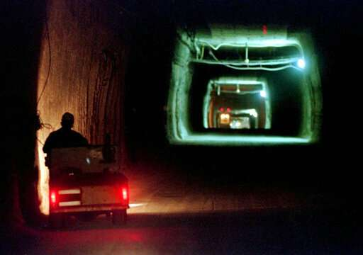 First-of-its-kind US nuclear waste dump marks 20 years