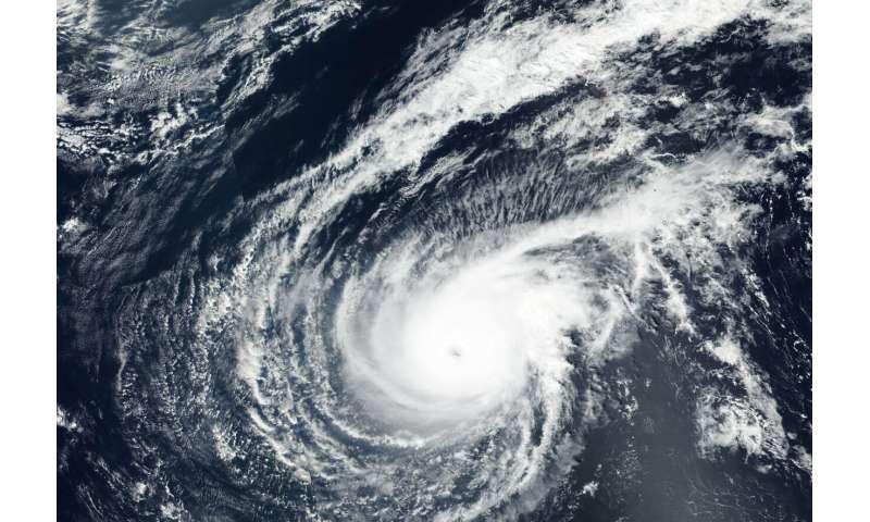 NASA-NOAA satellite finds Typhoon Wutip's eye clouded